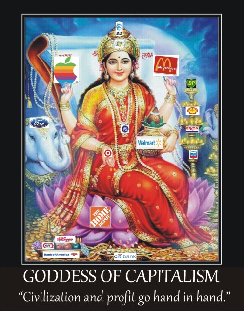 Goddess of Captitalism v1