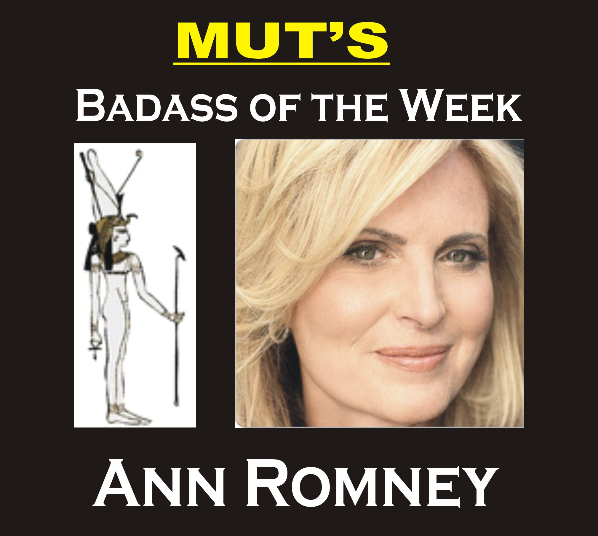 MUT's Badass of the Week: Ann Romney, Mitt's Best Campaign Weapon ...