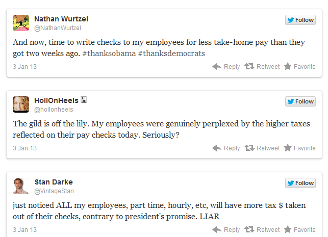 Employers comments