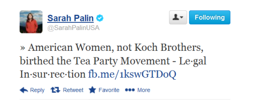 Sarah Palin Tweets