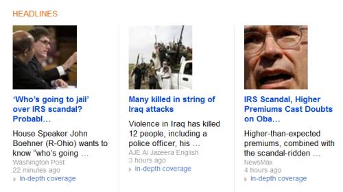 Top Stories Bing