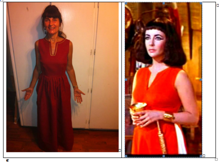 Cleopatra Red Dress