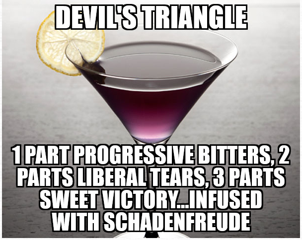 Devils Triangle Cocktail