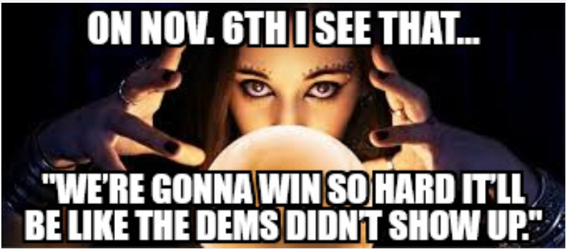 Nov 6 prediction