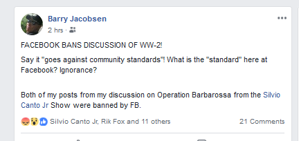 Barry's Posts
